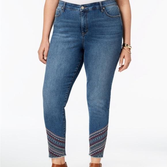 0fd4b34106f194 Style & Co Jeans | Style Co Plus Size Curvyfit Skinny 14w | Poshmark
